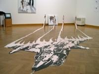 2004, peinture, 6 x 2.3 x 0.8 m